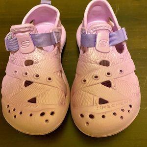 Toddler Girl Light Purple Skechers size 10